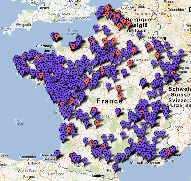 Les drives en France
