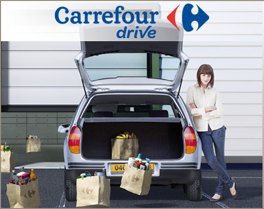 carrefour le drive un point faible exploit par les concurrents. Black Bedroom Furniture Sets. Home Design Ideas