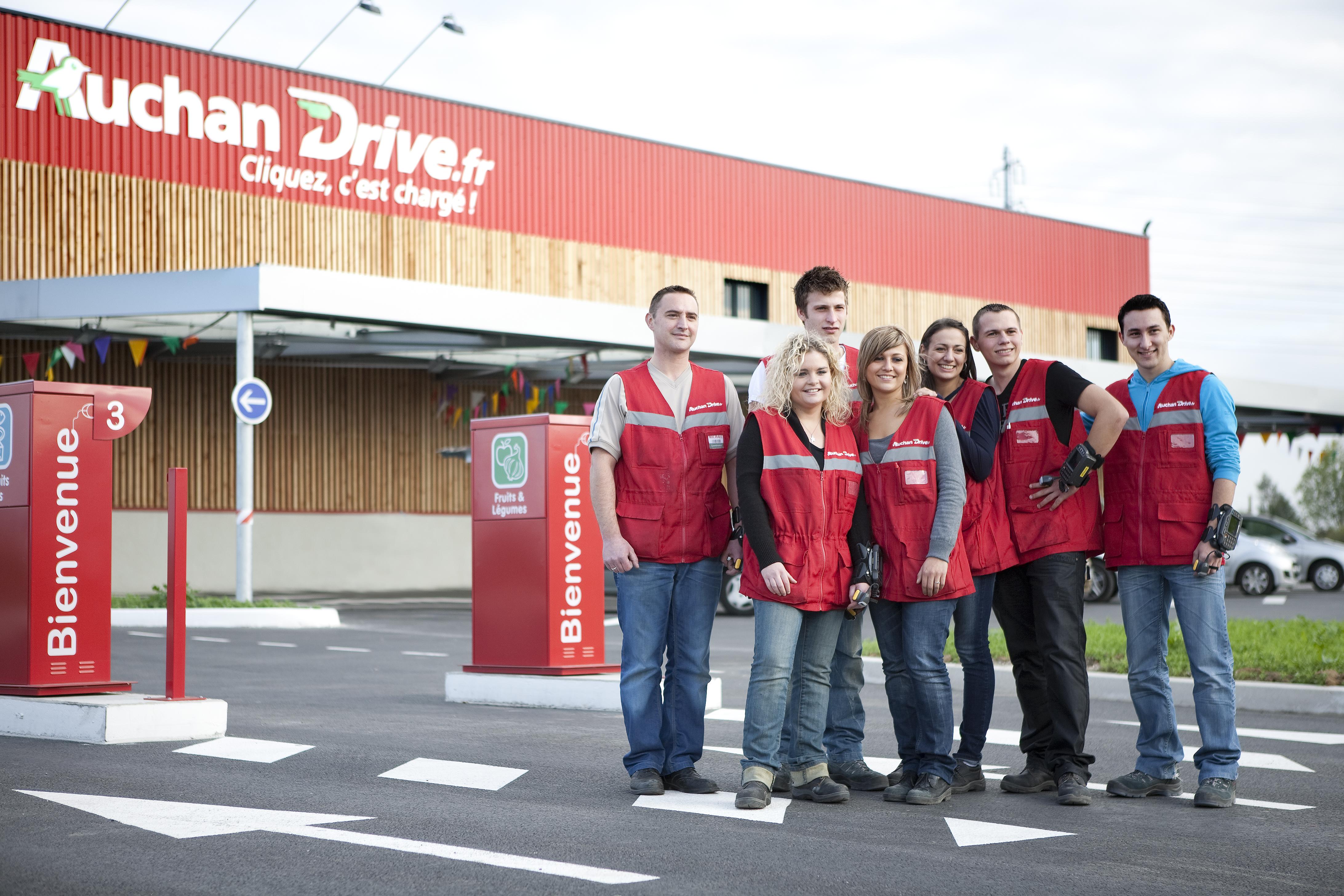 Carte Auchan Drive.Auchandrive Les Courses Pretes En 5 Minutes