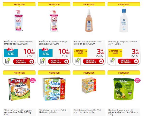 Promotions Bébé Auchan Drive