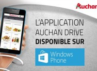 Appli Auchandrive Windows Phone