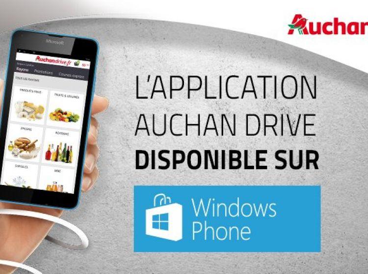 Appli Auchandrive Windows Phone