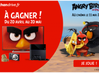 Jeu Angry Birds Auchan Drive