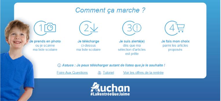 List & Go par Auchan