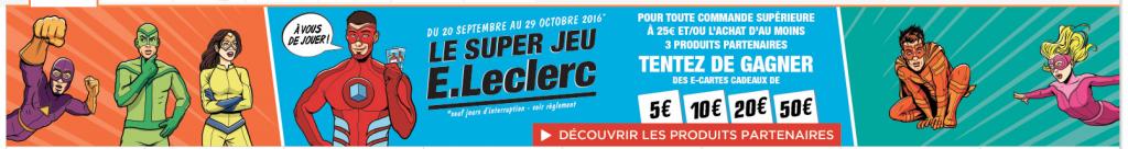 Super Jeu E. Leclerc