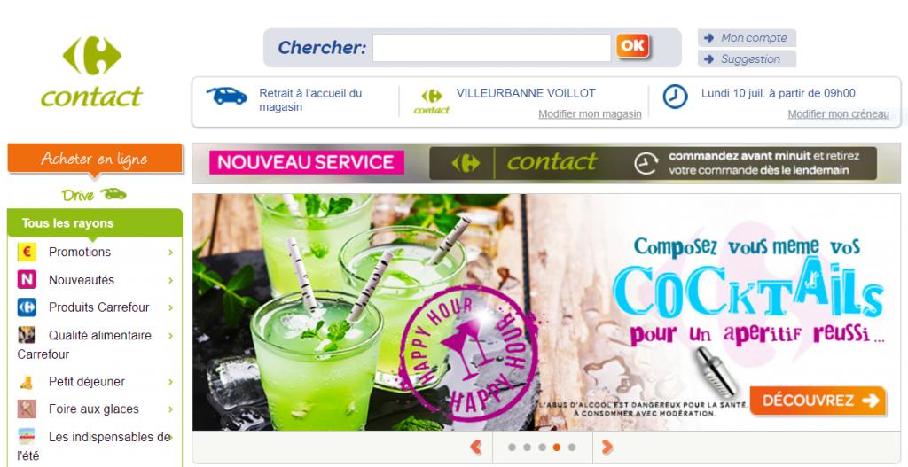 Carrefour Drive Contact Villeurbanne