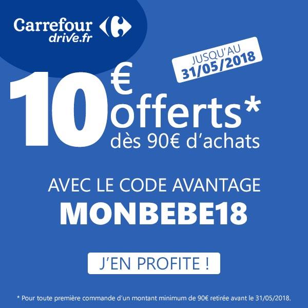 Code Promo Carrefour Drive Mai 2018