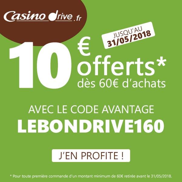 Code Promo Casino Drive Mai 2018