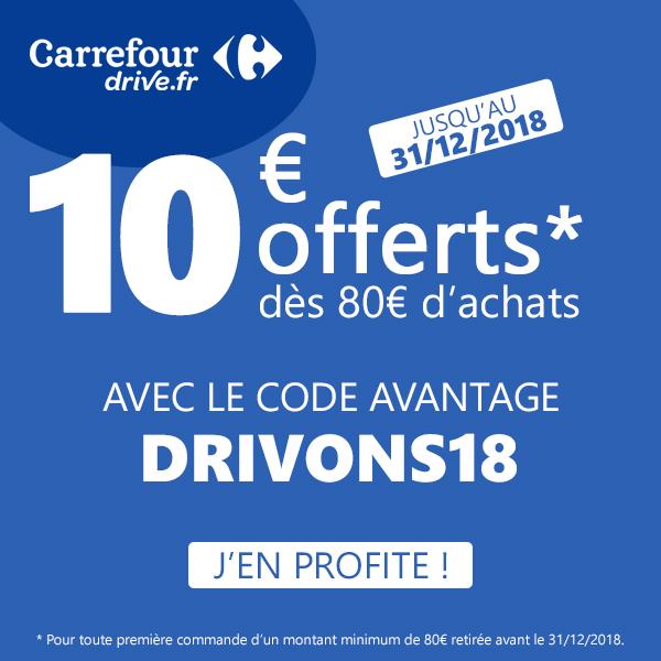 Code Promo Carrefour Drive Décembre 2018