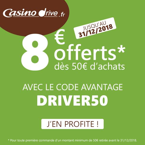 Code Promo Casino Drive Décembre 2018