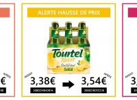 Augmentation prix Tourtel Twist